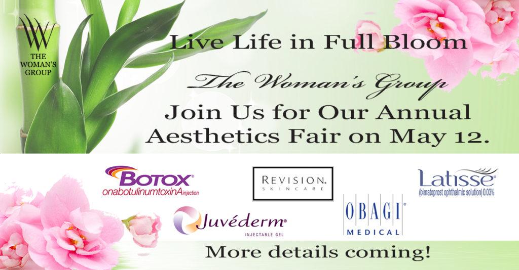 The Woman's Group Tampa-Aesthetics Fair-Botox-Juvaderm-Obagi