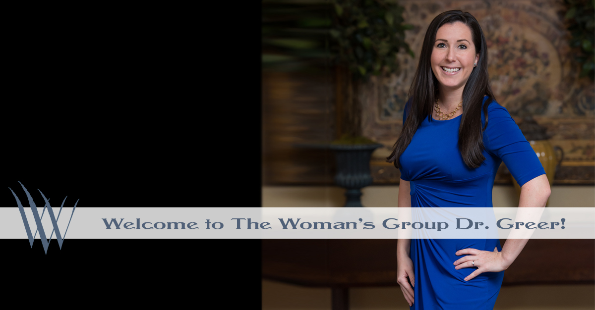Welcome Dr Greer to The Woman's Group Tampa