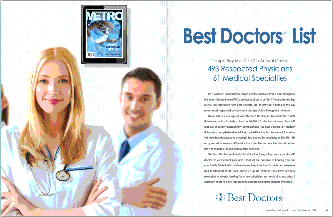 Best-Doctors- Tampa The Woman's Group